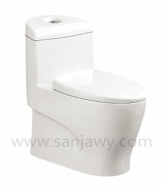 Lavatory hot sale top quality s-trap washdown wc toilet