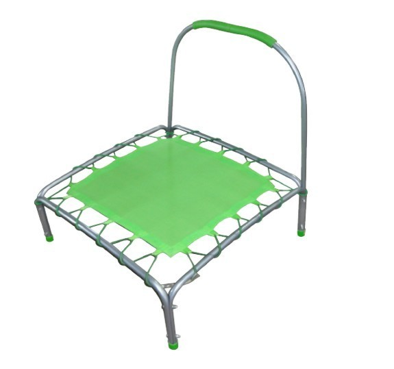 Mini Trampoline with elastic bands
