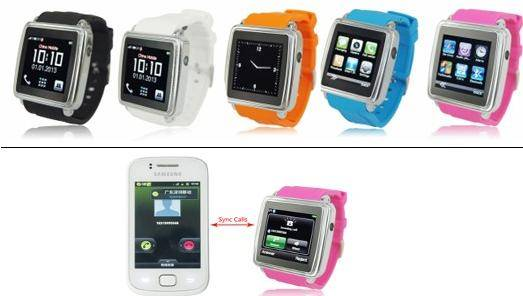 Blue,orange, pink, white and black,Bluetooth Phone Watch ,android phone Phone watch