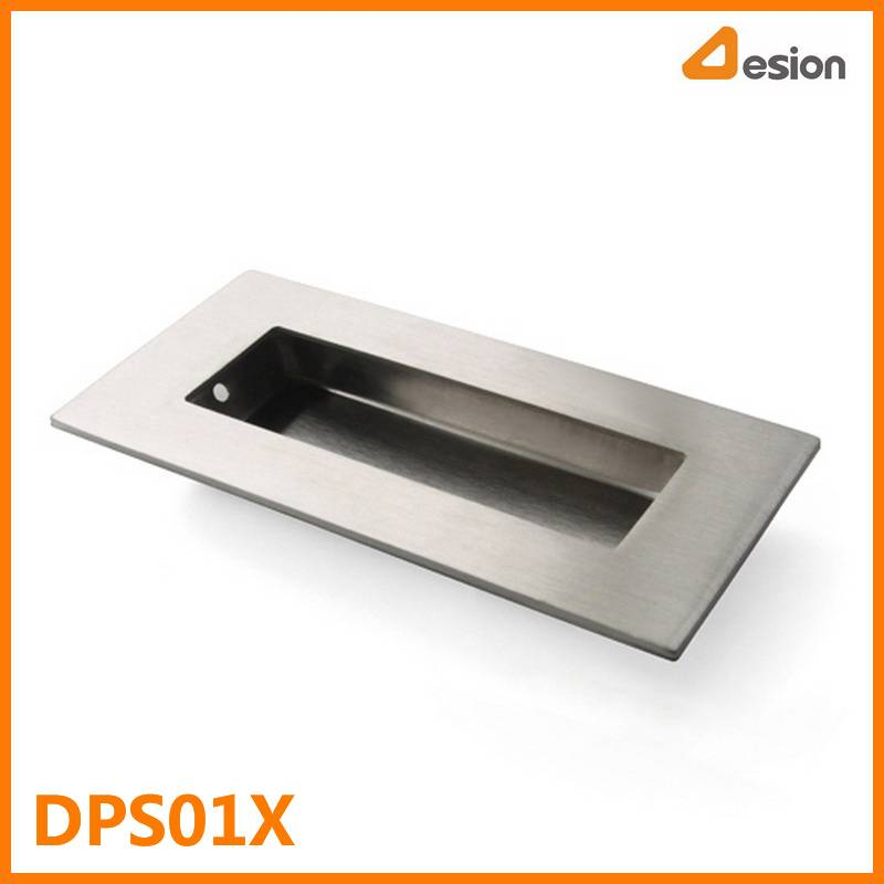 Rectangle Inlay Handle in Stainless Steel