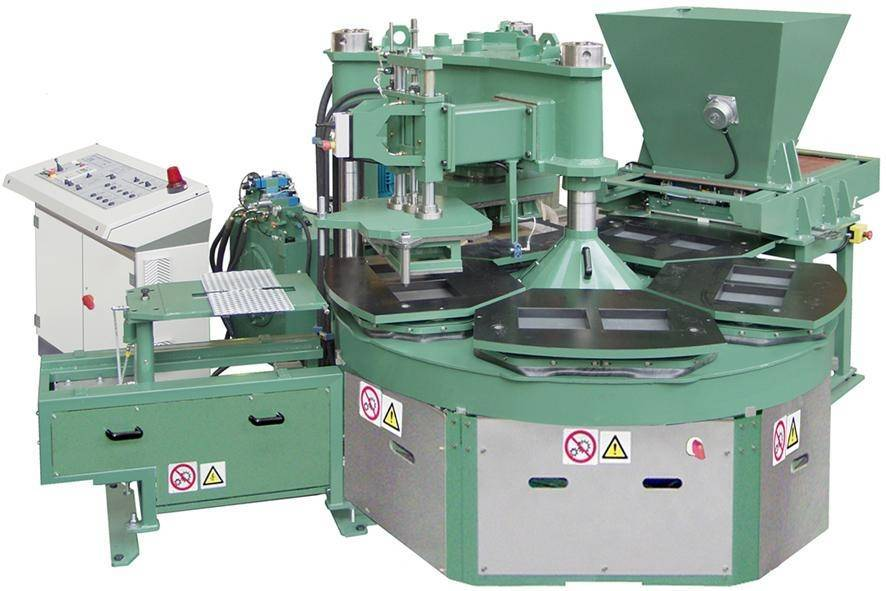 Italy technology JSR-6-600 six stations floor tile forming machine