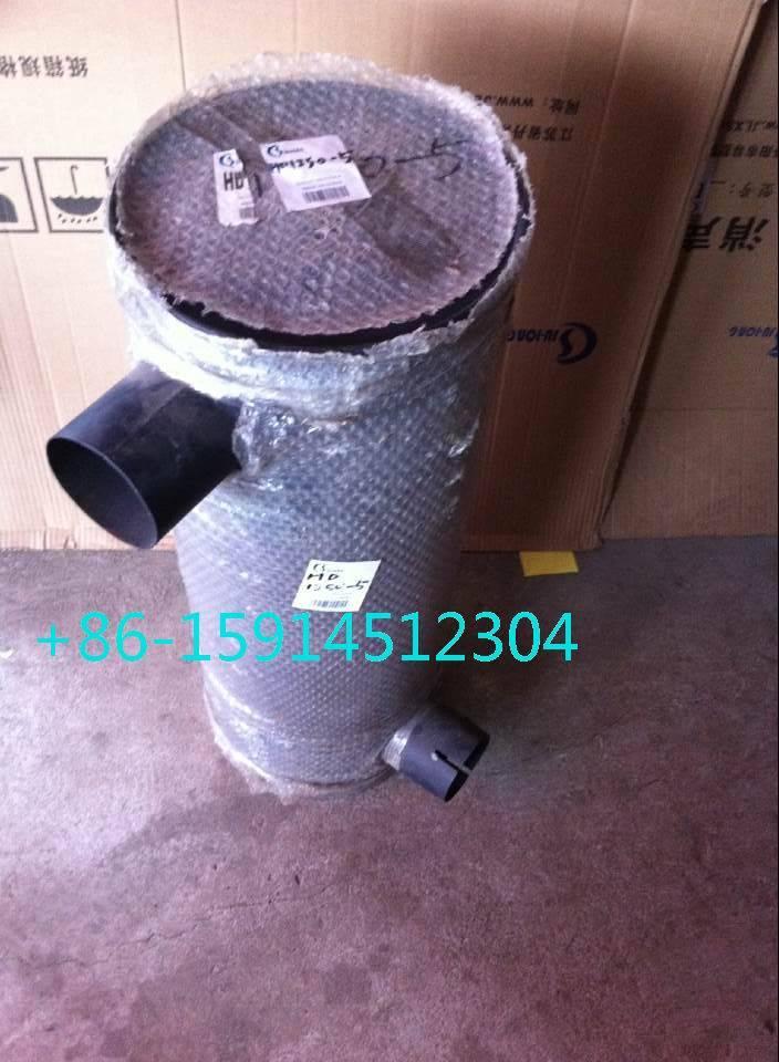 ME051697 Kato HD1250 muffler with tube