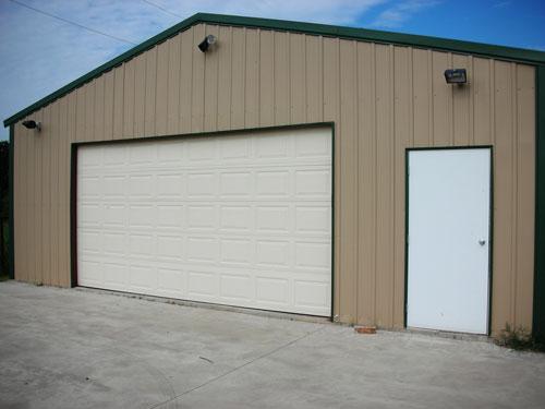 Steel structure prefabricated car storage