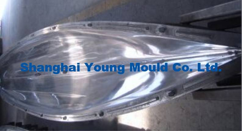 Kayak Rotational Mould, Kayak Aluminum Roto Mold