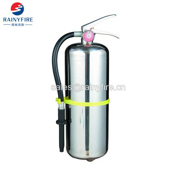 Stainless steel fire extinguisher