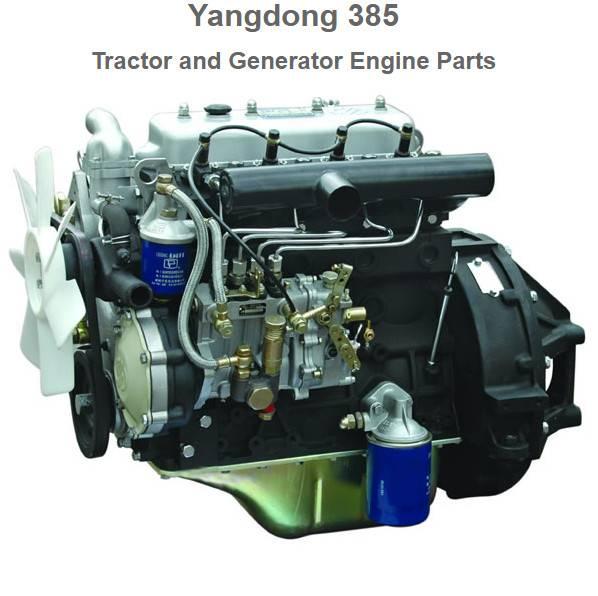 Yangdong Y385T diesel engine