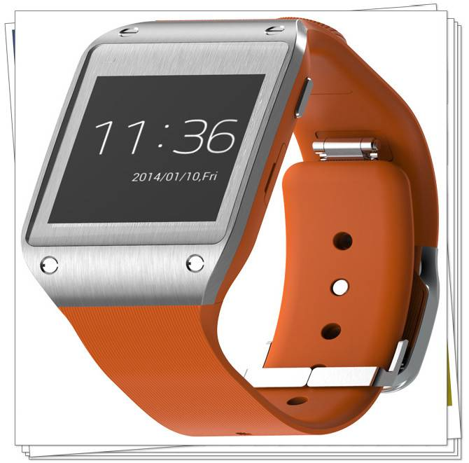 China 2013 hot sale android smart mobile watch