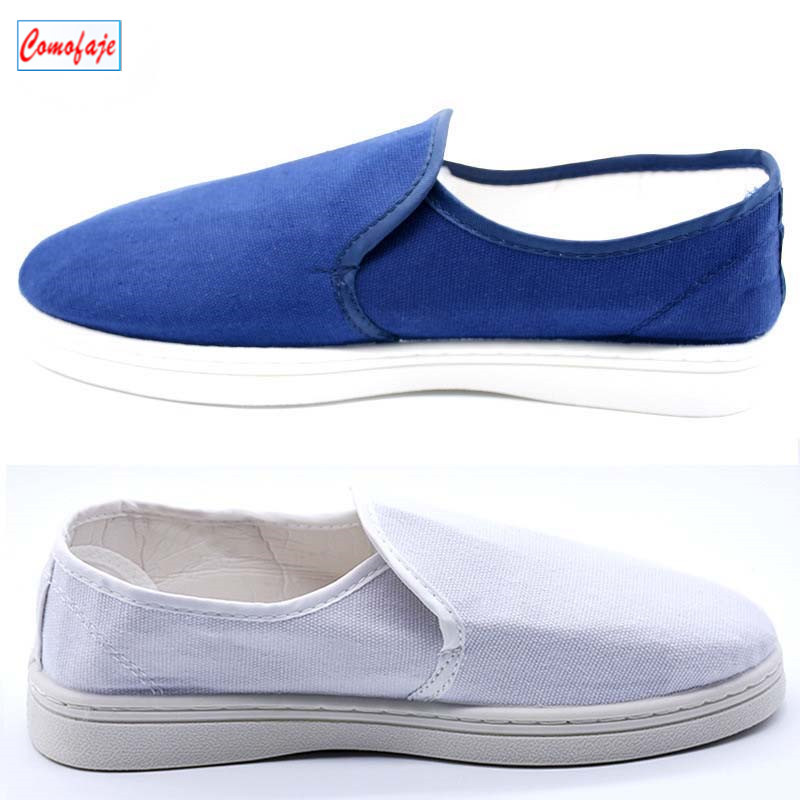 Good quality ESD safety cleanroom shoes Anti Static canvas shoes