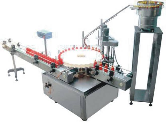 YXT-A automated press capping machine