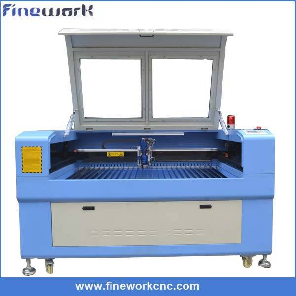 FW 1390 Auto-focus head mix laser cutting machine for metal with 150W