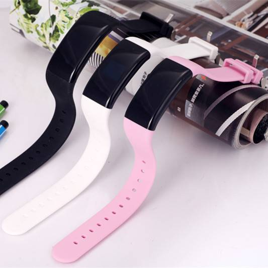 waterproof silicone Bluetooth sports fitness wirstband