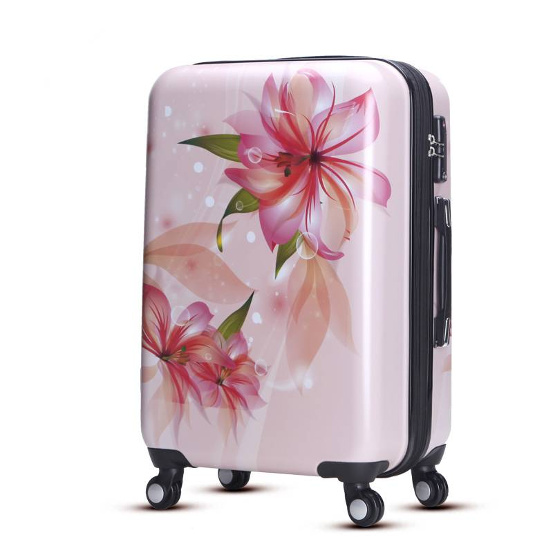 Light weight trolley luggage with durable function