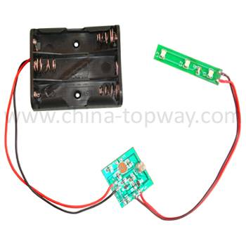 Led module with light sensor
