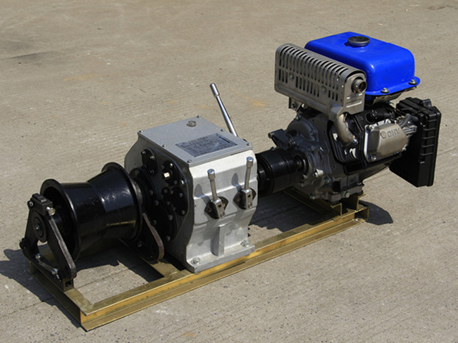 5T-Faster Engine Powered Winch