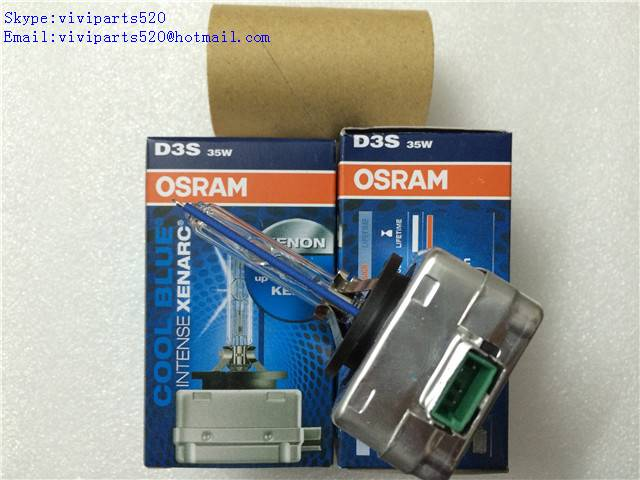 Car Headlight OEM Osram D3S 12V 35W 5000K 66340CBI COOL BLUE INTENSE