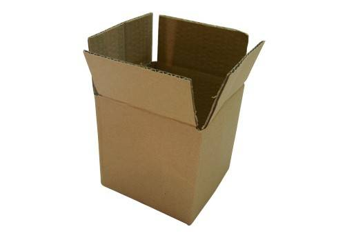 Customized Single Wall Corrugated Carton Box, Shipping Box, Square Box