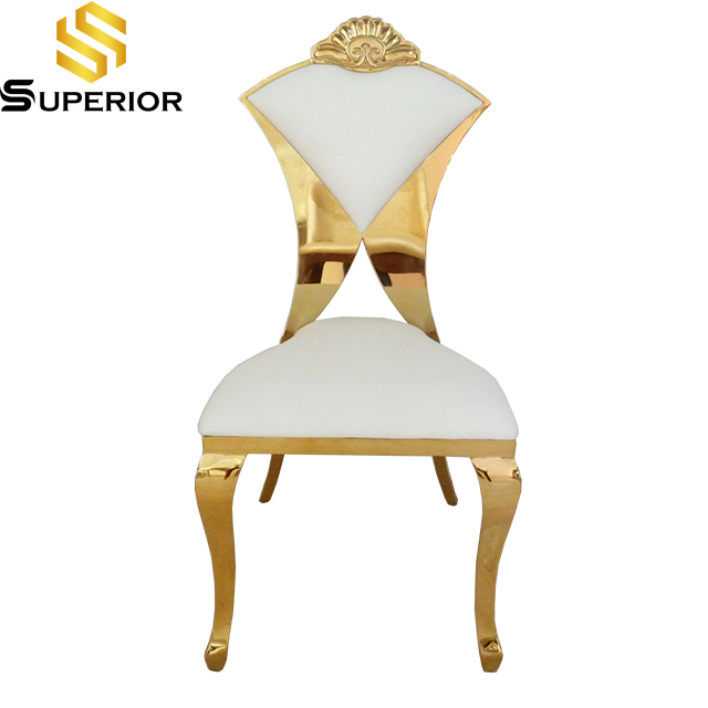 New design metal hotel chairs for wedding