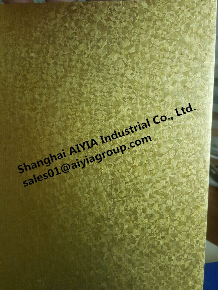 Gold color Hot Dipped 55% Al-Zn Coated Galvalume Steel Coil