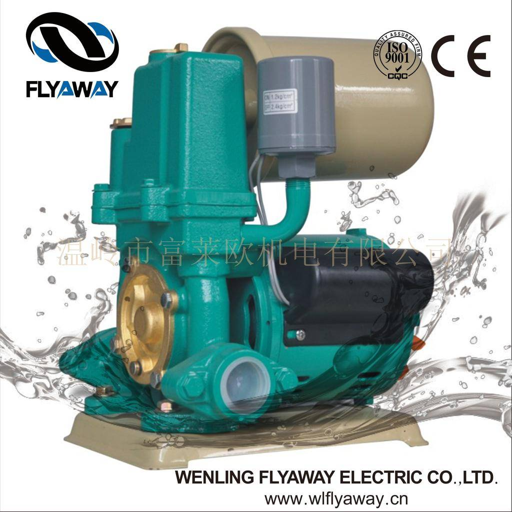 FLO series automatic switch booster pump self-priming pump made in China