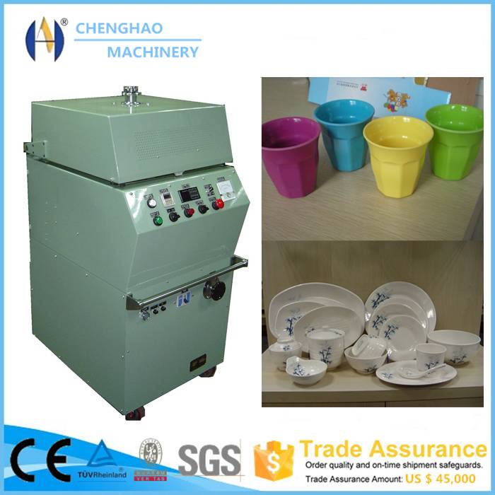 High frequency preheater machine for bakelite/disposable paper tableware making machine/stainless ta
