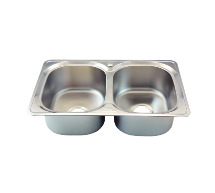 Stainless steel kitchen sink - Rossi Economic - RA 12