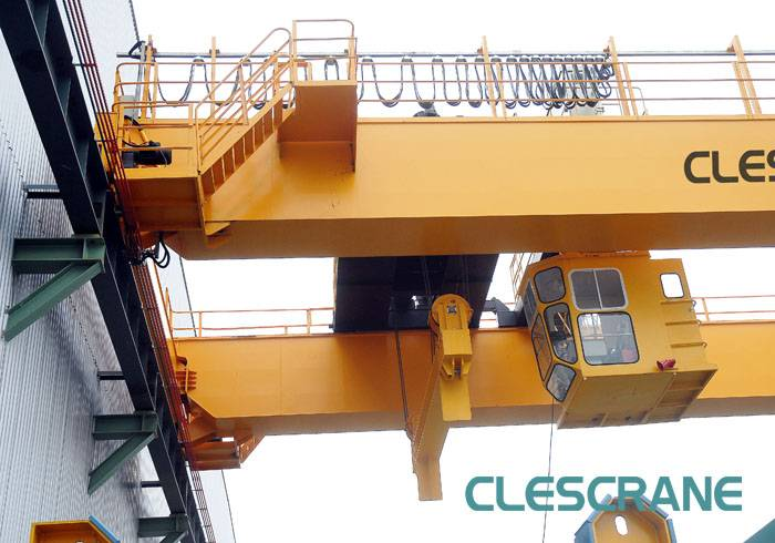 CH(W)B Series Semi Gantry Crane Open Winch