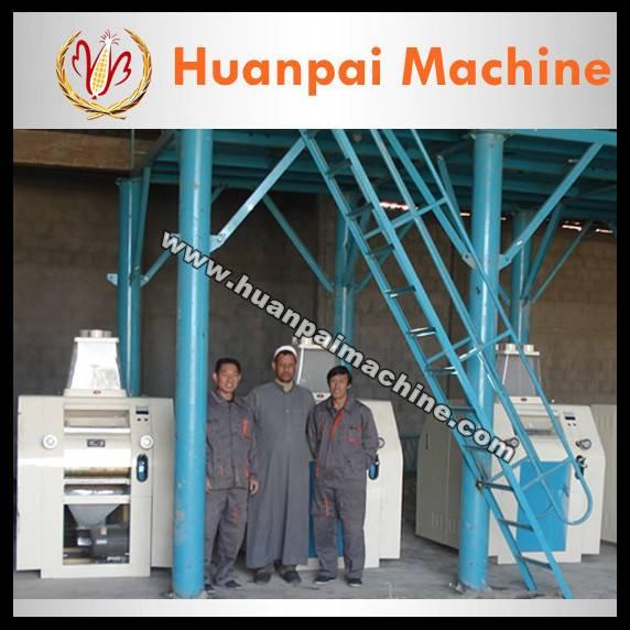 maize/corn flour processing machine