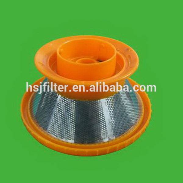 2015 hot sale plastic K-cup coffee filter with orange