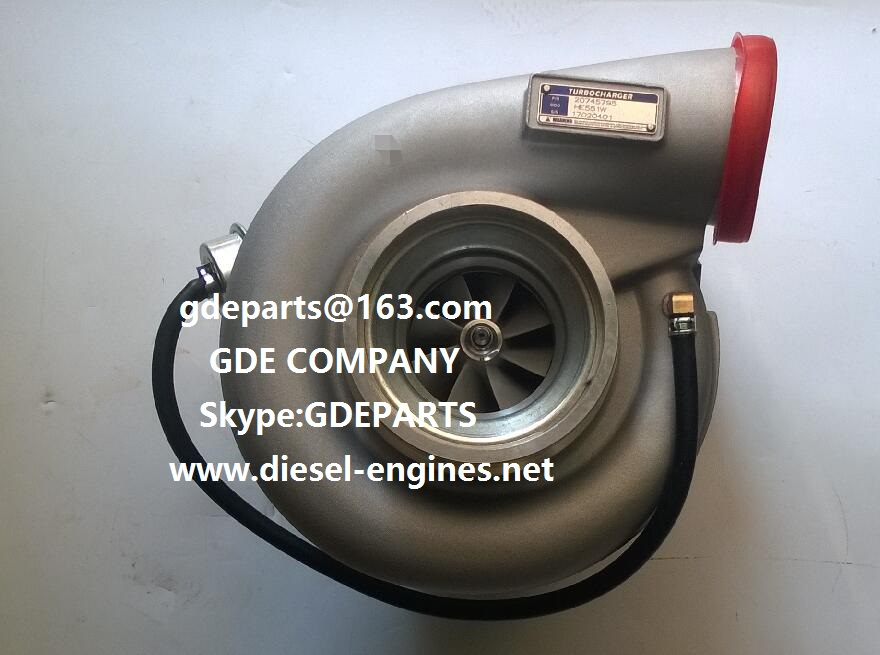 Volvo D16C turbocharger 20745795 HE551W 85000613