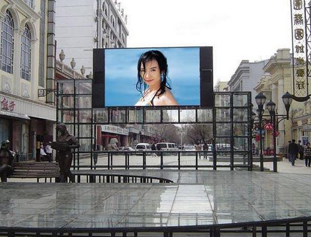Shenzhen China P5 P6 P8 P10 outdoor full color LED module for advertising message LED sign display