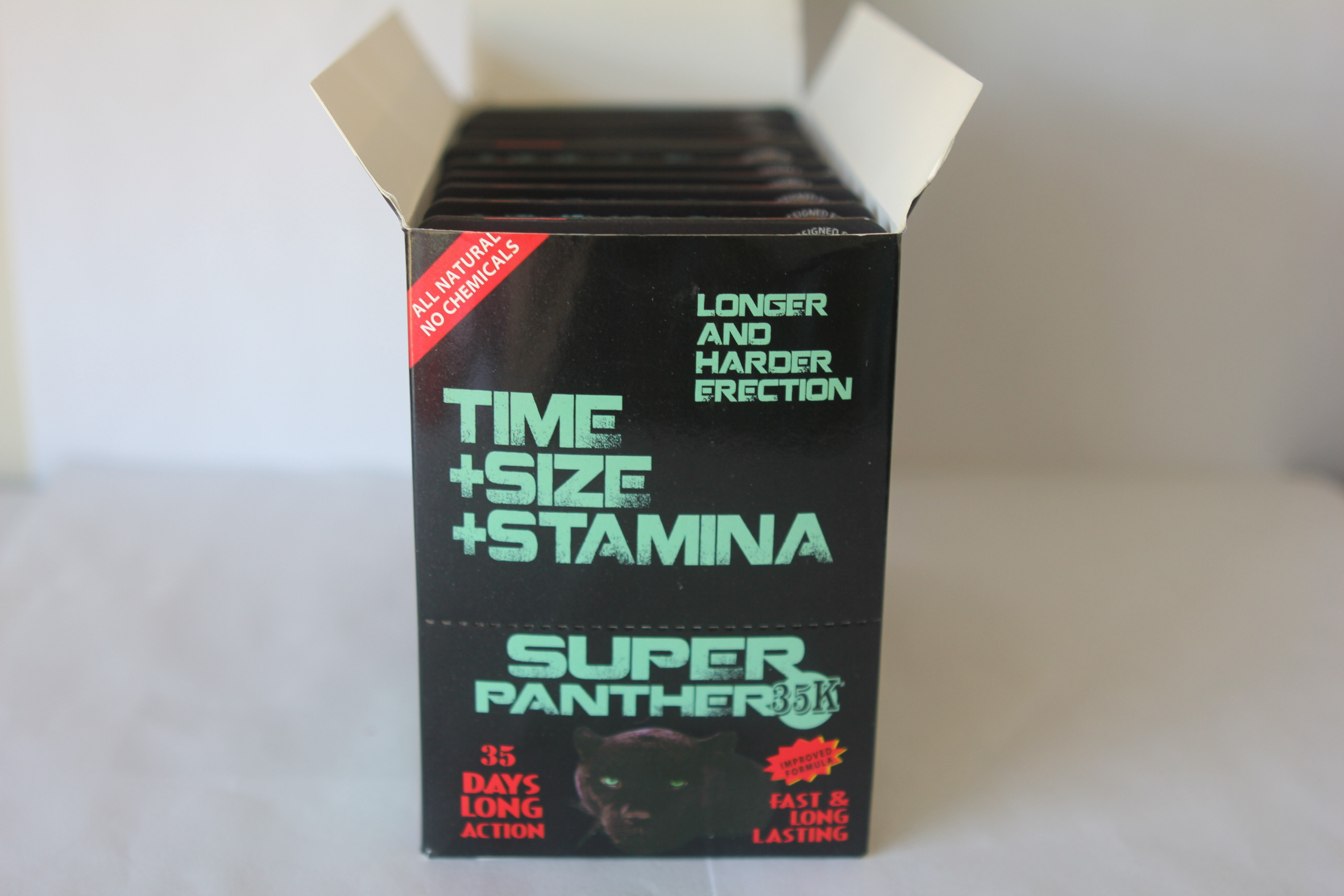 Super Panther 35K Male Enhancement 1 Box(20ct)