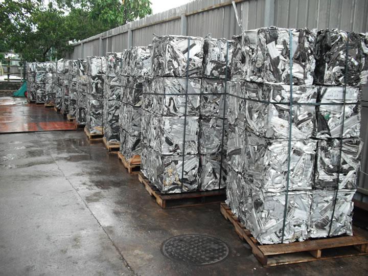 Aluminum UBC Can Scrap (UBC Scrap) in Grade A Bales