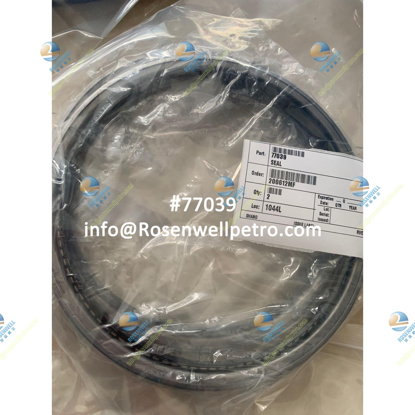 Nov Varco TDS High Quality OIL SEAL 77039 For Top Drive