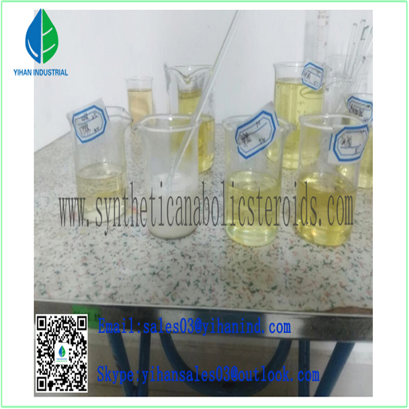 Finished Muscle Gain Injectable Steroids Stanozol Winstrol Semi-Finished CAS: 72-63-9 Vials Iris
