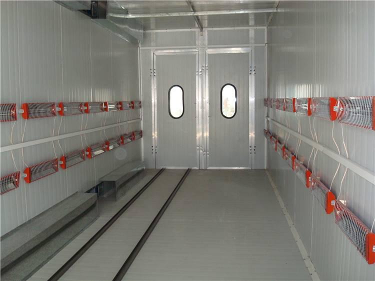 D Oriental DOT C1 infrared heater Car Spray baking booth