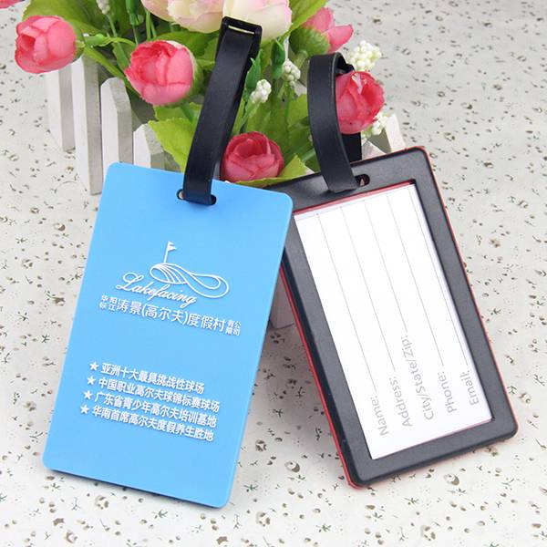 Travel Bag Promotional Luggage Tag