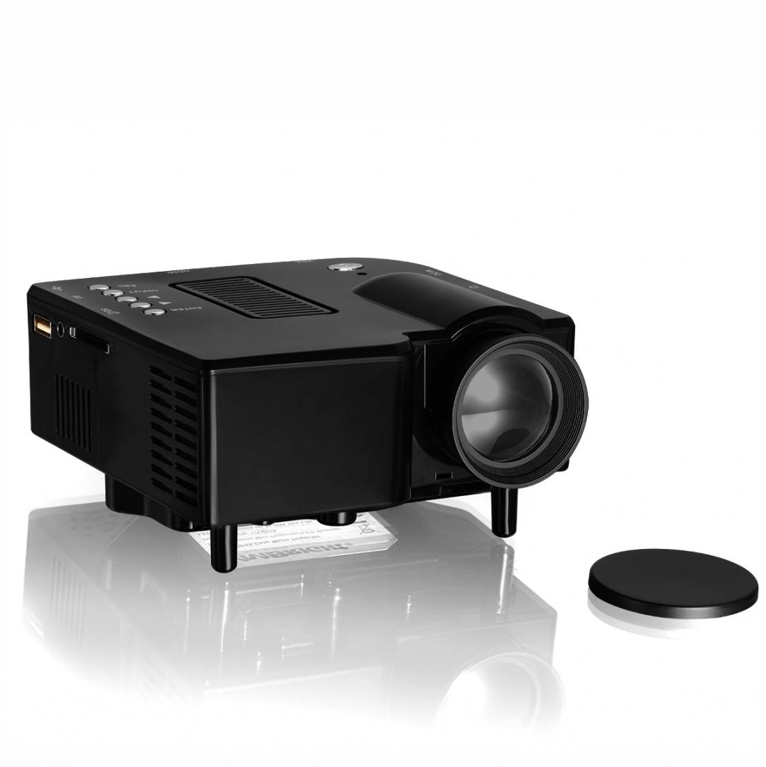 Vivibright GP5S Mini LED Portable Projector/Beamer/Proyector/Projektor Home Cinema LCD Projector PK