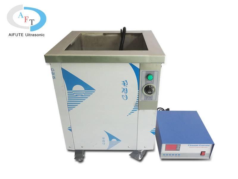 Single groove ultrasonic cleaning machine