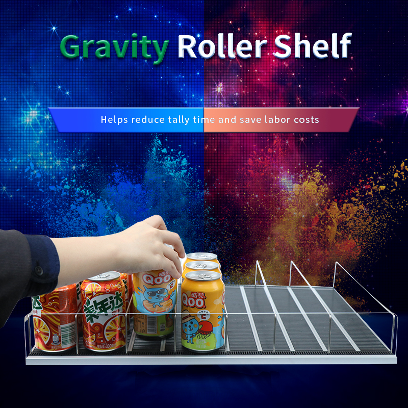 Original Factory Intelligent Shelfs Feed System Gravity Conveyor Manufacturers Used in Convenience S