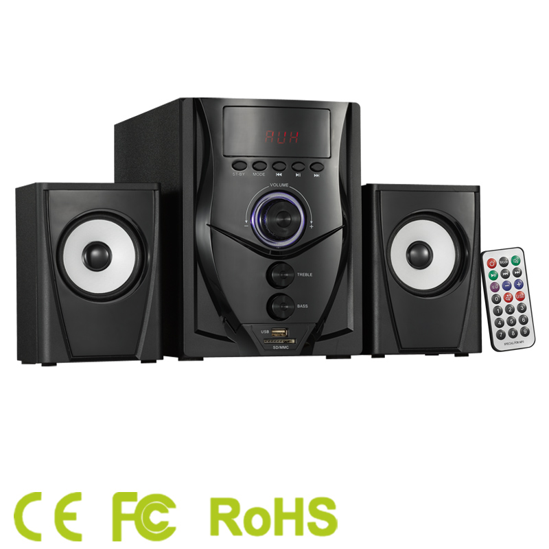 2016 new computer speakers home theater system prices hifi india with USB/SD/FM
