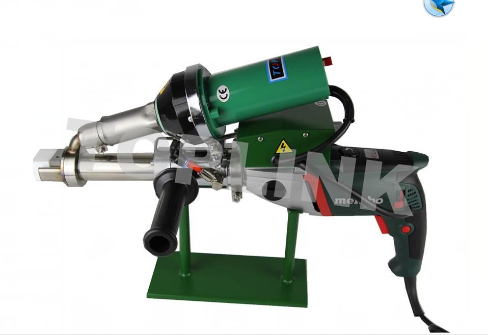 Plastic pipe extruder extrusion welder machine(with German accessories)