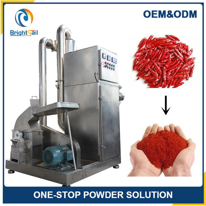 Newest technology chili pepper flour pulverizer with CE