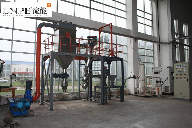 glass powder pulverizing machine