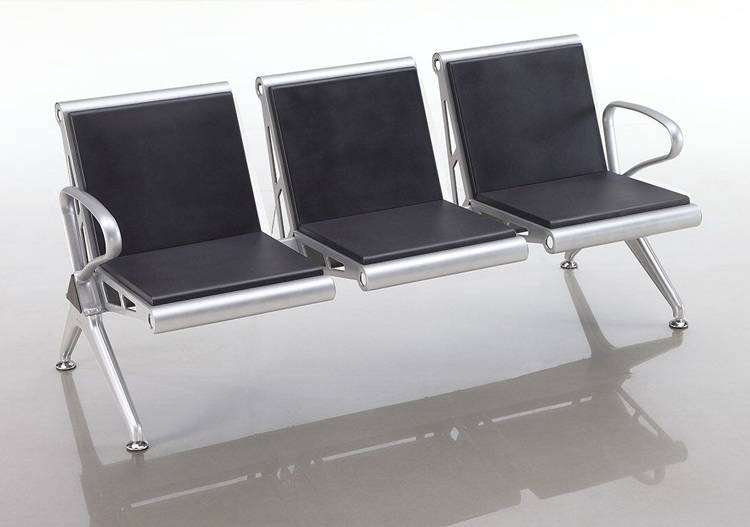 Competetive PU foam padding bench seating for terminal seats of public waiting area