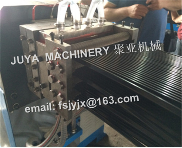 Nylon PA66 thermal break strip extrusion machine