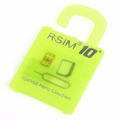 R-SIM 10+ RSIM 10+ unlocking card for IOS 9.1 iphone 6s 6 5s 5 4S Activation SIM Card