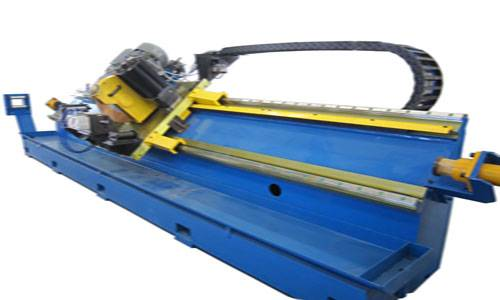 cold flying saw for welded pipe cutting