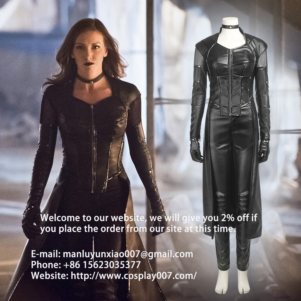 MANLUYUNXIAO Green Arrow 5 Black Canary Cosplay Costume Dinah Laurel Lance Halloween Outfit For Wome