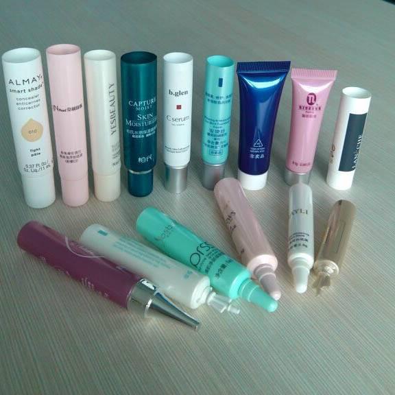 Mini plastic Kosmetic tube packaging