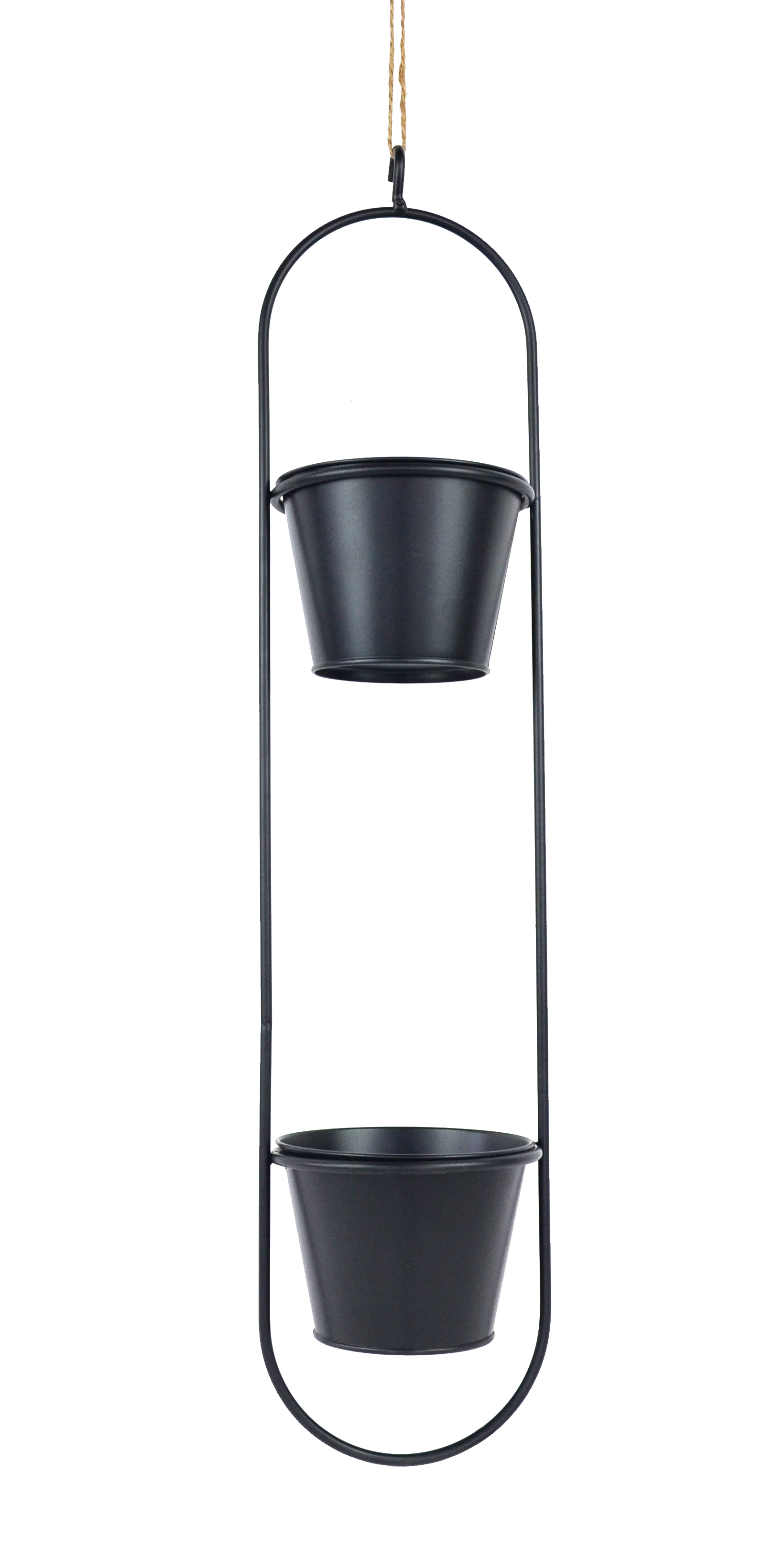 metal flower stand or flower pot